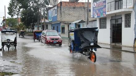 Pobladores soportaron 20 horas de intensa lluvia en Moyobamba