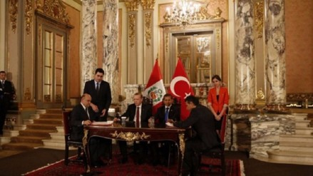 Presidente Humala estima concretar TLC con Turquía este 2016
