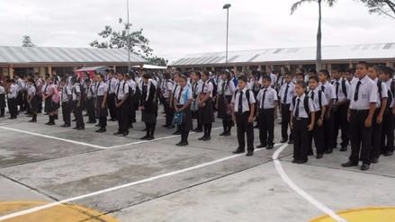 El 7 de marzo se iniciarán clases escolares en San Martín