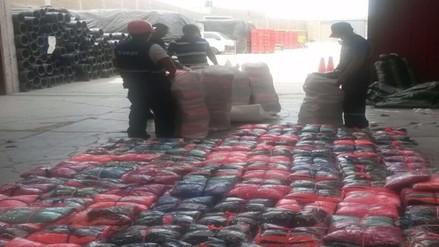 Decomisan mercadería de contrabando valorizado en más de 200 mil soles