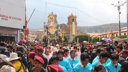 Rinden homenaje a santísima Virgen de la Candelaria