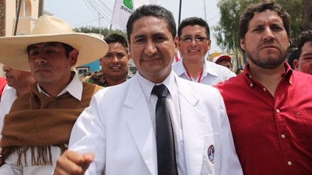JEE inscribe oficialmente candidatura de Vladimir Cerrón de Perú Libertario