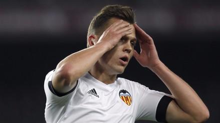 Barcelona vs. Valencia: Cheryshev recibió ovación de hinchas azulgranas