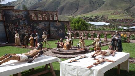 Entregan 82 obras de arte restauradas en Tipón