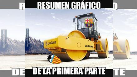 Barcelona aplastó al Valencia en el Camp Nou y los memes no se hicieron esperar