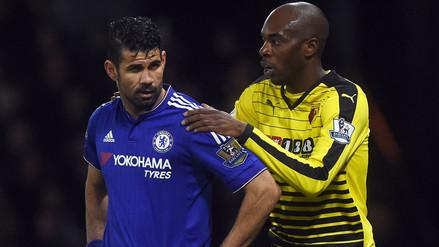 YouTube: Diego Costa volvió a perder los papeles en el Watford vs. Chelsea