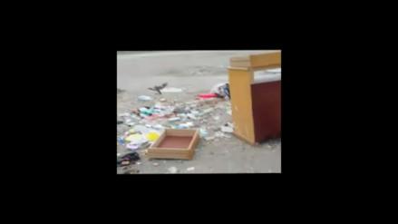 Callao: Centro médico de la región atiende al lado de basura