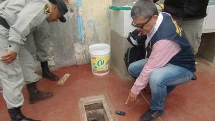 Decomisan 6 celulares y ketes de marihuana en penal de Huacariz
