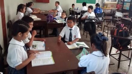 Amplían servicio educativo en colegios de diferentes caseríos