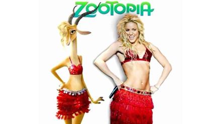 Shakira prepara nuevo disco y saca su lado más animal