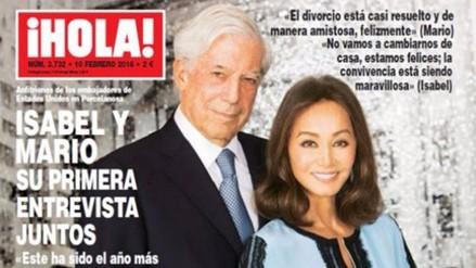 Mario Vargas Llosa e Isabel Preysler lucen su amor