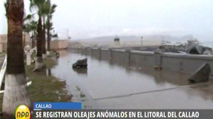 Oleajes anómalos obligan a cerrar playas en el Callao