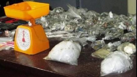 Maynas: incautan mil ketes de PBC y detienen a 30 personas