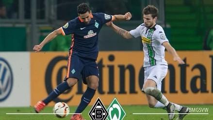 Claudio Pizarro anotó y entró al Top 5 de goleadores históricos en la Bundesliga