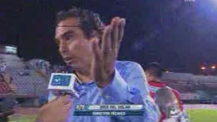 Video: Del Solar culpó al árbitro por derrota de San Martín ante Municipal