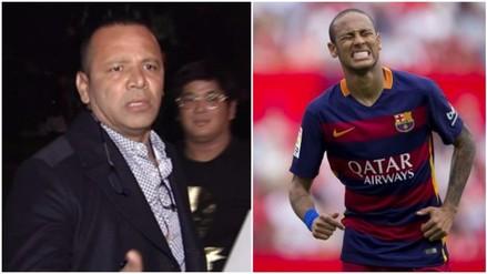 YouTube: padre de Neymar agredió a periodistas en la fiesta de su hijo (VIDEO)
