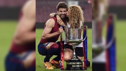 Shakira se rinde en elogios por Gerard Piqué