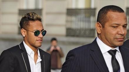 Neymar: Barcelona exigió más respeto para el padre del delantero