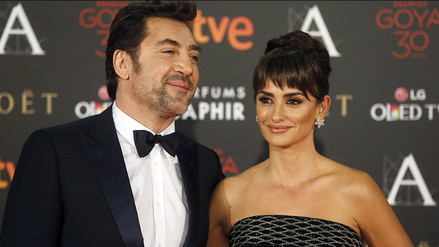 Premios Goya: Penélope Cruz y Javier Bardem, los más celebrados