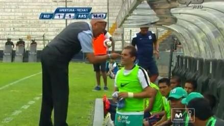 Alianza Lima vs. Alianza Atlético: Josimar Atoche tiró camiseta y así reaccionó Mosquera