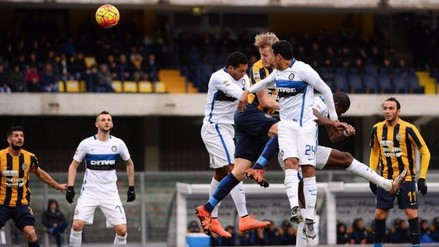Inter de Milán igualó 3-3 con Hellas Verona en partidazo por la Serie A