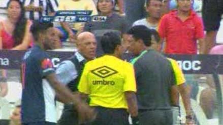 Alianza Lima vs. Alianza Atlético: Roberto Mosquera fue expulsado en su debut