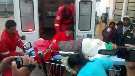 A 40 aumenta la cifra de heridos tras despiste de bus