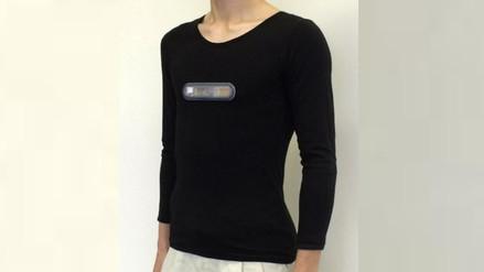 Crean una camiseta inteligente que ayuda a mejorar la condición física