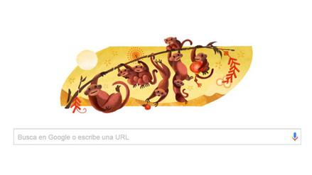 Google celebra el Año Nuevo Lunar con un colorido doodle
