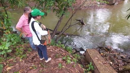 """OEFA constata vertimiento de aguas residuales en """"Laguna Azul"""""""