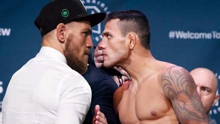 UFC: Conor Mcgregor fue amenazado por Rafael Dos Anjos (VIDEO)