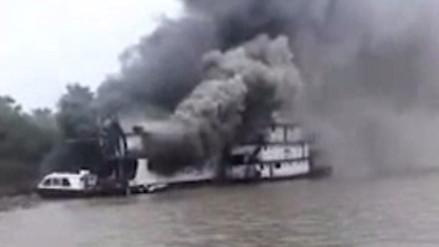 Marina de Guerra confirma incendio en PIAS Río Napo