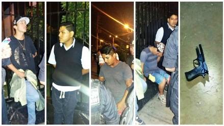 Trujillo: capturan a 4 delincuentes que asaltaban con arma de juguete