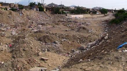 El Porvenir: trabajos por El Niño en quebrada San Ildefonso al 85 %