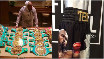 YouTube: Floyd Mayweather planea regreso al ring con short de diamantes (FOTOS)