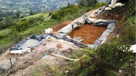 Huamachuco: lluvias provocan deslizamiento de relaves mineros