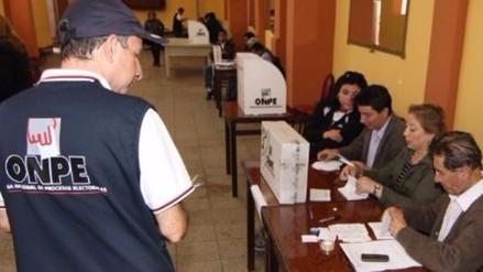 Trujillo: mañana vence plazo de inscripción de candidatos al congreso