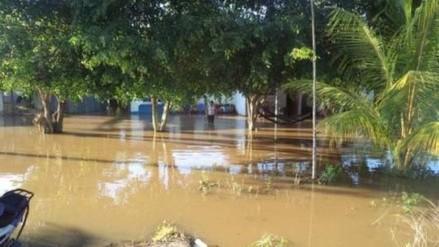 Chulucanas soporta fuertes lluvias por más de seis horas