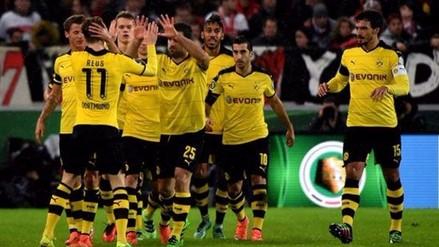 Claudio Pizarro: Borussia Dortmund venció 3-1 a Stuttgart y podría ser rival de Werder Bremen