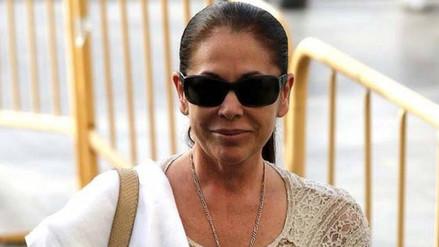 Isabel Pantoja pasó su última noche en prisión