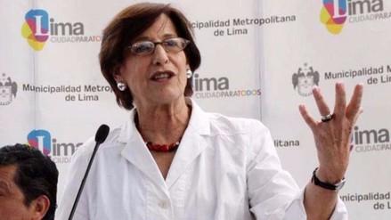 Susana Villarán: Sé que Urresti no es autor del crimen que le imputan