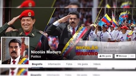Maduro anuncia que usará Facebook para
