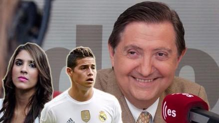 Real Madrid: esposa de James Rodríguez fue insultada por periodista