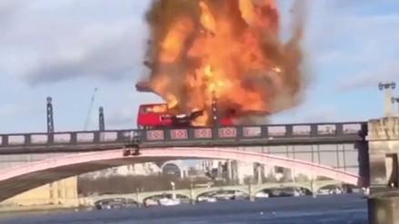 YouTube: Explosión en película de Jackie Chan generó pánico en Londres