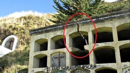 Pataz: bloque de nichos en cementerio de Tayabamba presenta rajaduras