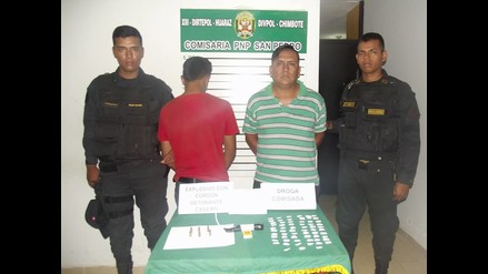 Chimbote: capturan a extorsionadores con dinamita y fósforos