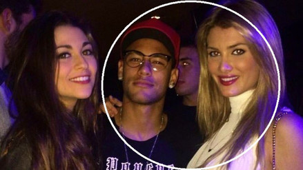 Twitter: Neymar se lució con la Miss Mundo Mireia Lalaguna en un restaurante