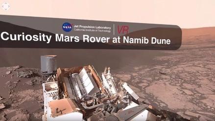 YouTube: piérdete en Marte con este video 360 de la NASA