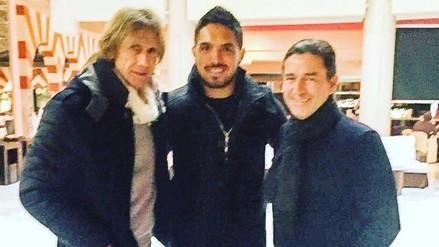 Selección Peruana: Ricardo Gareca terminó su gira por Europa visitando a Juan Vargas