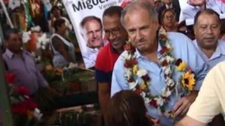 Candidato Alfredo Barnechea dio a conocer sus propuestas en Pucallpa